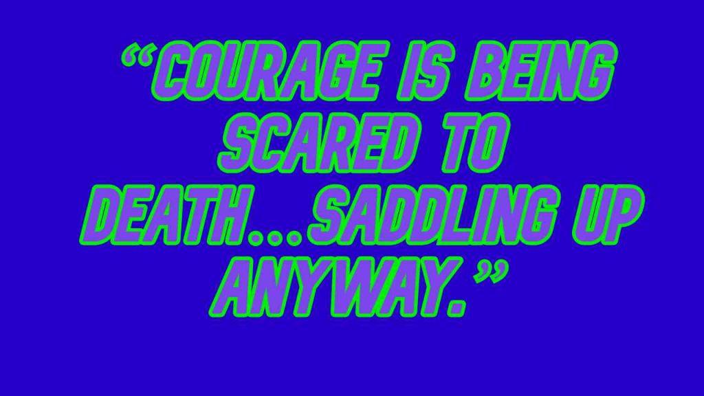 John Wayne Quotes on Courage