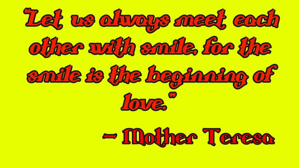 st Mother Teresa Quotes