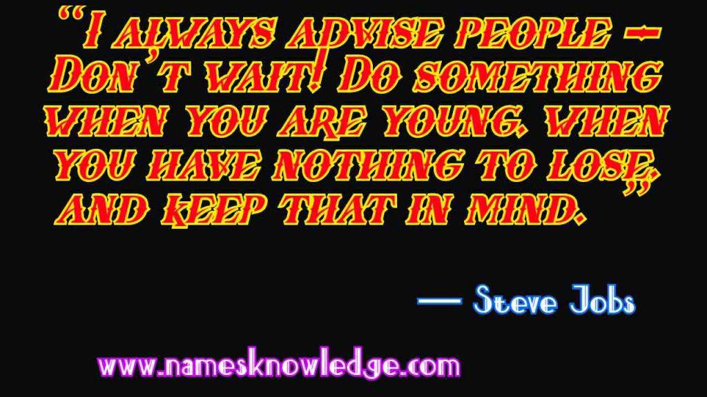 Steve Jobs Quotes Motivation