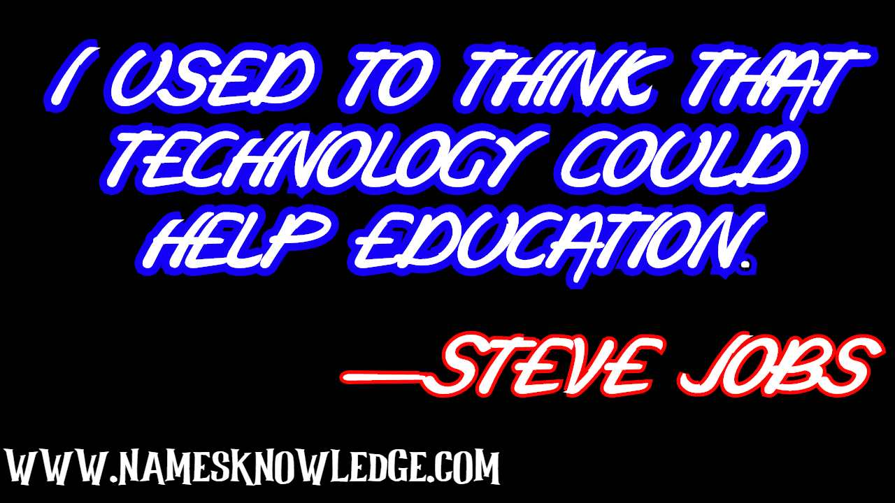 Steve Jobs Quotes Technology