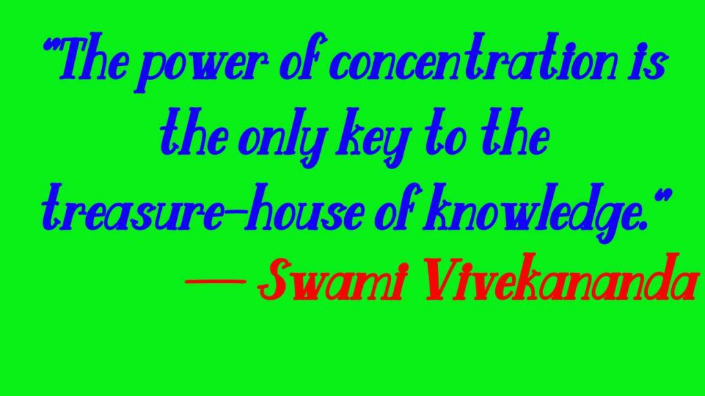 Swami Vivekananda Quotes for students