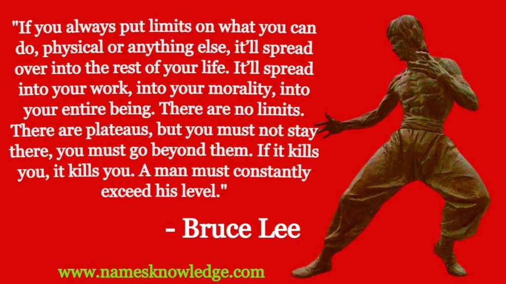 Bruce Lee Quotes If You Always