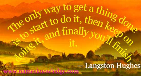 Lagston Hughes Quotes