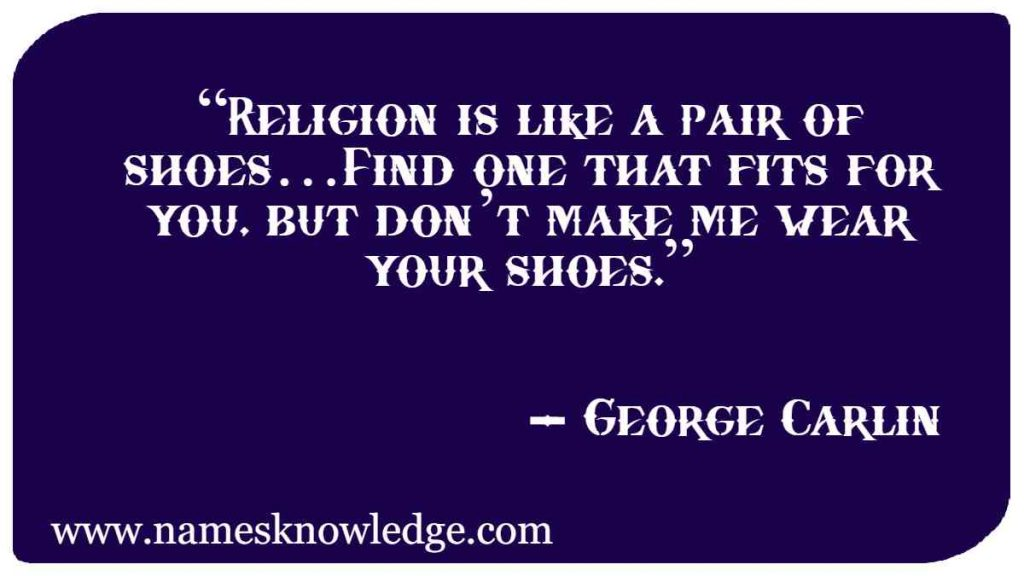 George Carlin Quotes on Religion