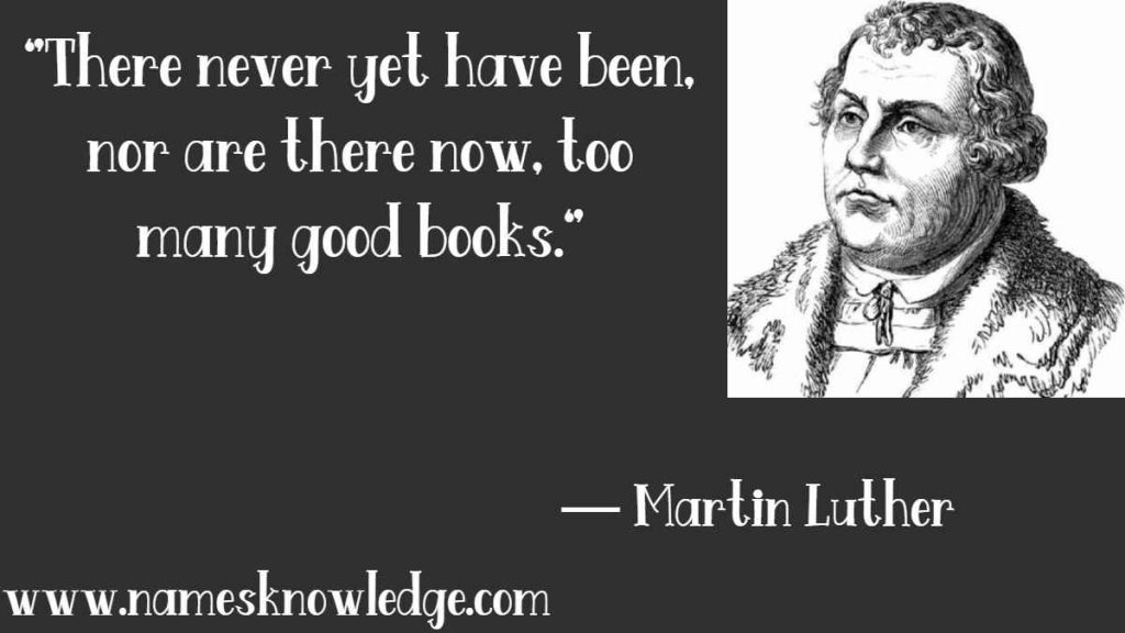 """Martin Luther Quotes - """"There never yet have been, nor are there now, too many good books."""""""