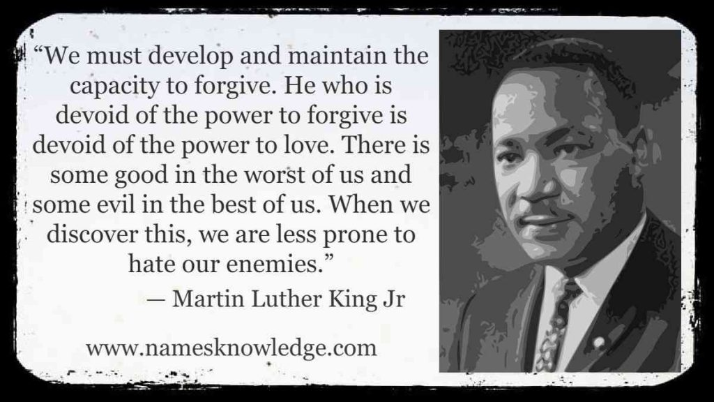 Quotes about Love by MLK Jr